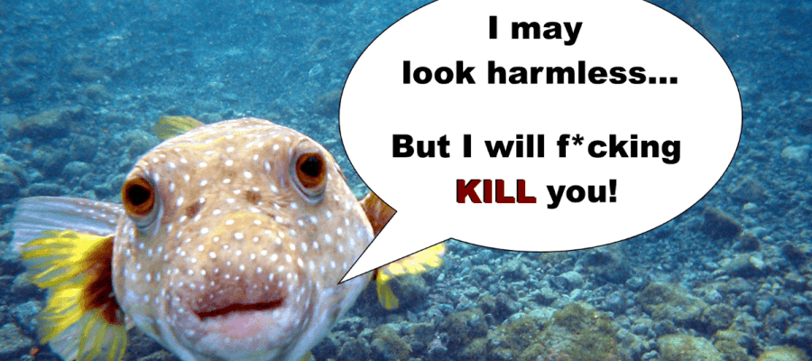 Killer Food - Pufferfish