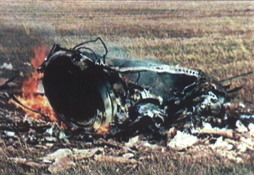 space travel disasters: soyuz 1 crash site