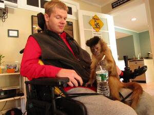 Assistance Animals: Helper Monkey