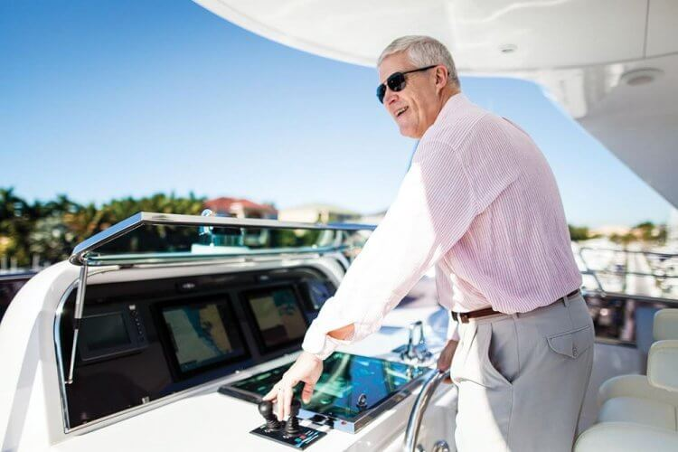 Louis Chenevert Maintains His Passion for Yachts and Yacht Design into His Retirement