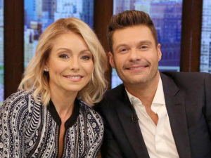 Ryan Seacrest and Kelly Ripa Guiness World Records