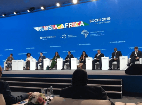 Meta Title Angolan Billionaire Isabel dos Santos Speaks at Russia-Africa Summit